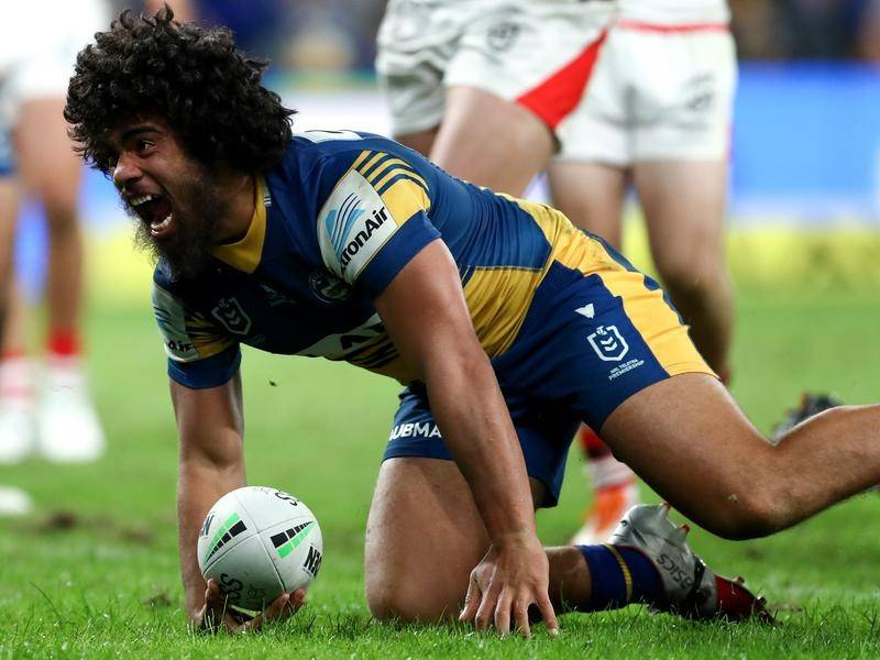 Parramatta's Isaiah Papali'i is making his time away from home in New Zealand count.