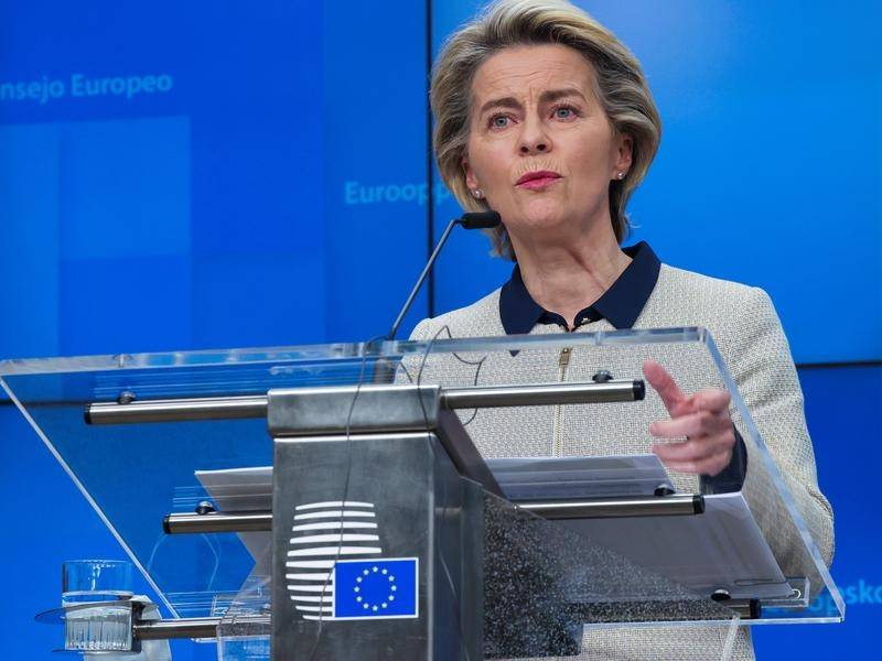 Ursula von der Leyen has made upbeat comments about the state of post-Brexit trade negotiations.