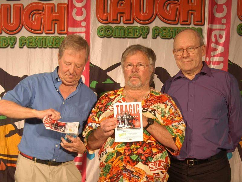 Tim Brooke-Taylor (left, with Bill Oddie and Graeme Garden) has died from the coronavirus at 79.