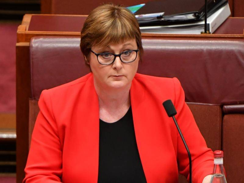 The government is digging in behind Defence Minister Linda Reynolds who is facing calls to resign.
