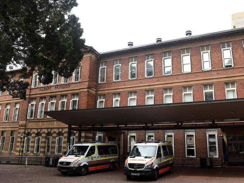 A doctor says his mesothelioma was caused by asbestos in tunnels at Royal Prince Alfred Hospital.