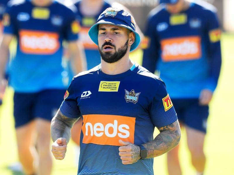 Nathan Peats' NRL future is unclear as the hooker bides his time out of the Titans picture.