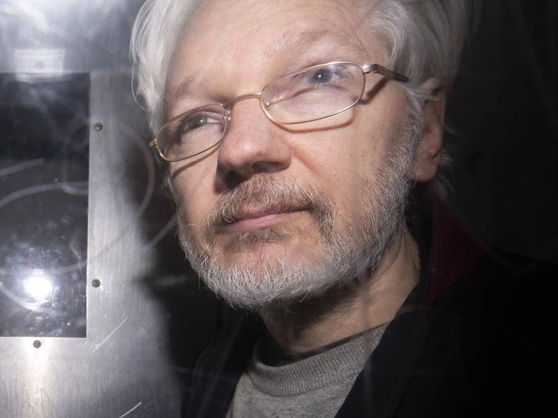 WikiLeaks founder Julian Assange appeared in a UK court via video link ahead of his trial.