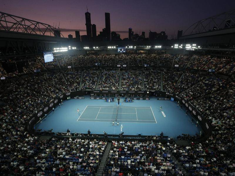 Australian Open organisers say nothing's been finalised about players training during quarantine.