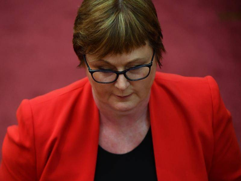 Defence Minister Linda Reynolds has been admitted to hospital and is taking medical leave.