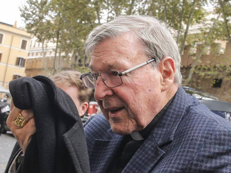 Cardinal George Pell is in Rome to clean out his Vatican apartment but intends to stay in Sydney.