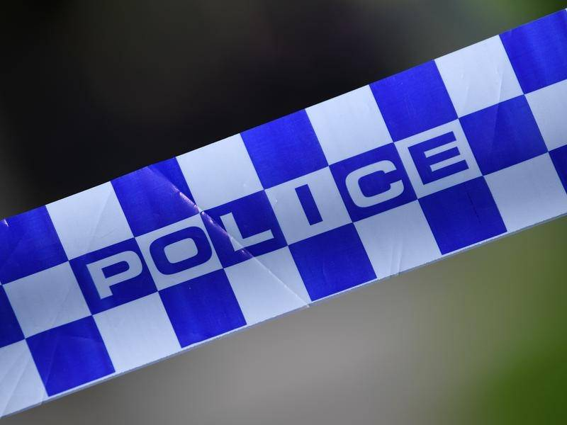 A man has been fatally shot by police after allegedly confronting them with a knife in Victoria.