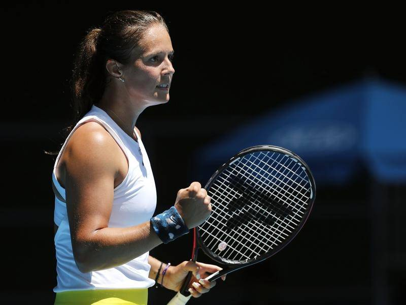 Daria Kasatkina has beaten No.6 seed Elena Rybakina for her first win against a top-20 player.