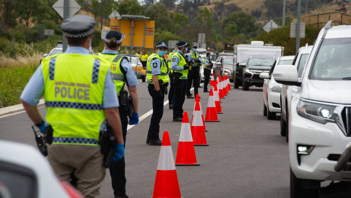 Queues form as ACT shuts border to non-residents from COVID-affected NSW – The Canberra Times