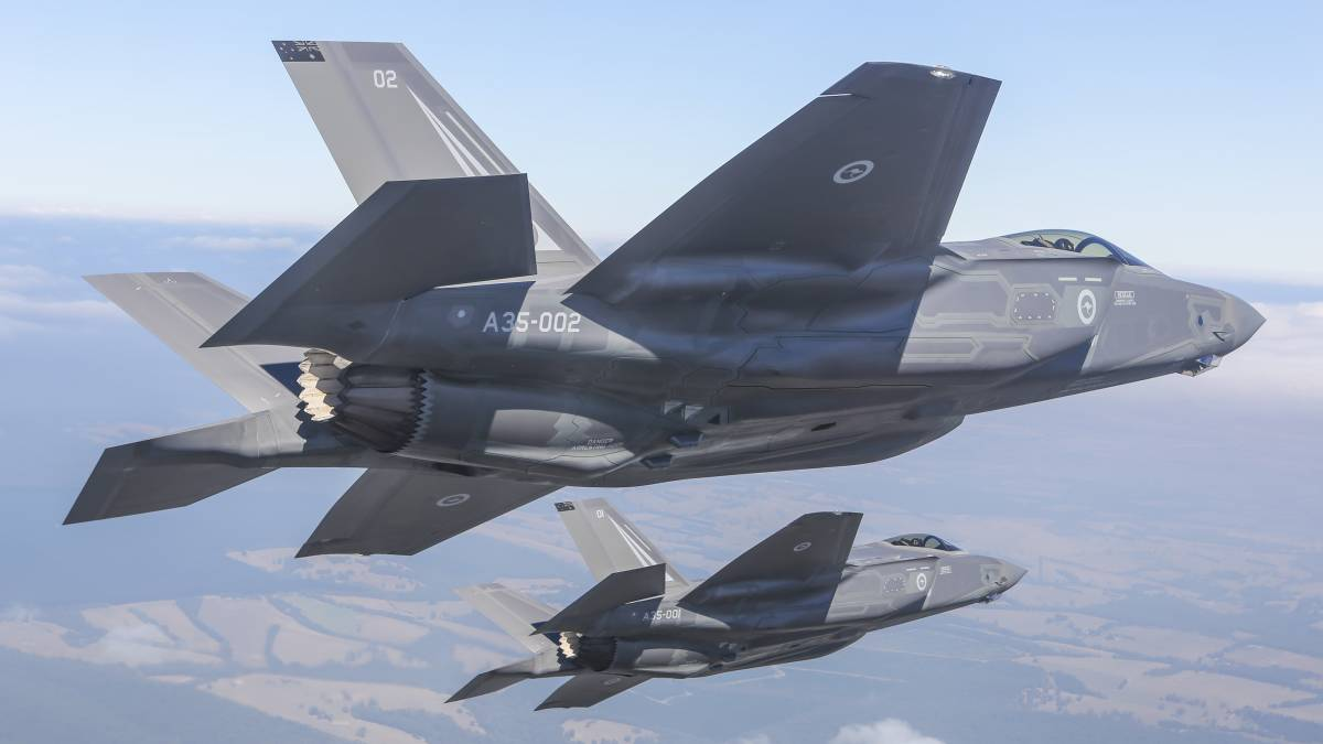 A multi-role fighter like the F-35A is the best choice for Australia. Picture: Department of Defence