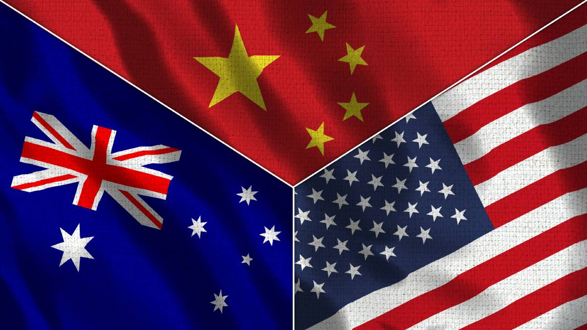 The United States is watching carefully to see how we manage tensions with China. Picture: Shutterstock