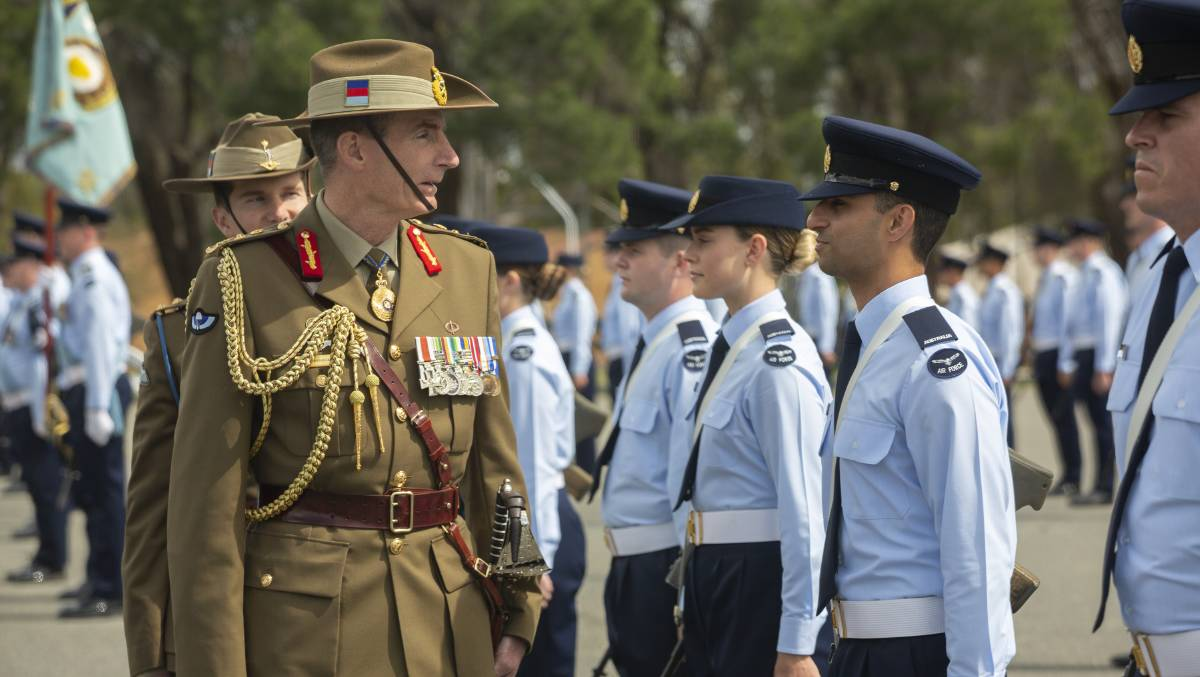 General Campbell said the wrong thing, but the intent behind his statement was noble. Picture: Defence Department