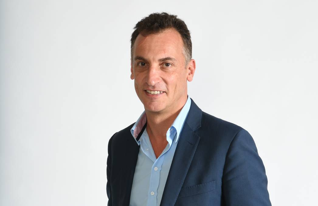 Regional ambitions: Executive chairman of Australian Community Media Antony Catalano.